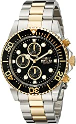 Invicta Men's 1772 Pro Diver Collection Chronograph Watch