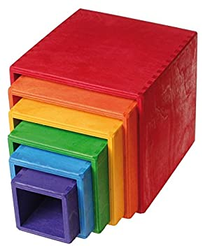 Grimms Large Set of Colored Boxes Grimm/'s GmbH 10370