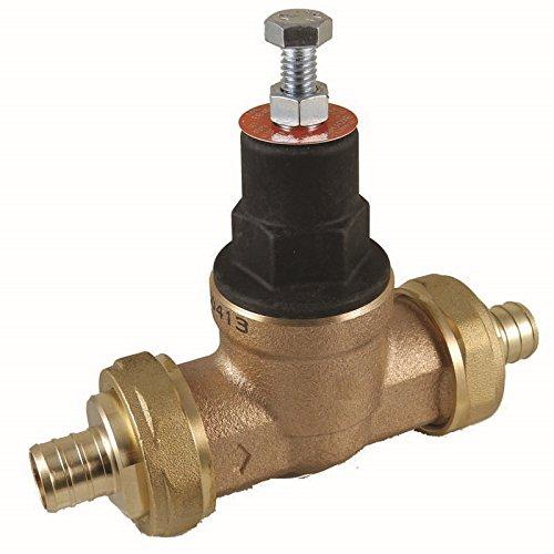 Cash Acme 23942-0045 Pressure Regulator, EB45-DUPE Double Union PEX Ends, 1