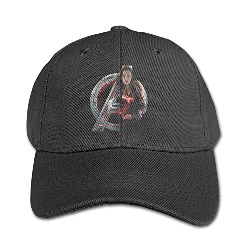 [Amone Scarlet Witch Avenge Running Children Peaked Hat Black] (The Avengers 2 Scarlet Witch Costume)