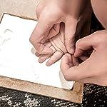 StillCool-cornice-impronta-bambino-Cornice-in-Legno-Argilla-di-Qualita-Bambino-Print-Frame-Baby-Print-Impronte-Mani-Bambino-Impronte-Cornice-di-Legno-Bambino-Keepsake-Regalo