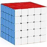 Emob Ultra Smooth 5x5 Magic HighSpeed Stickerless Rubik Cube with Adjustable Speed & Cube Bag