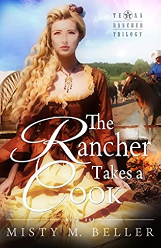 book cover of The Rancher Takes a Cook