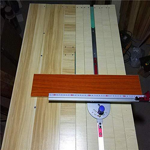 CHUNSHENN ドリルチャック 耐久性のあるバンドソーのための木工キットマイターゲージレッド表ソウルーターマイターゲージソーイングアセンブリルーラー木工ツール