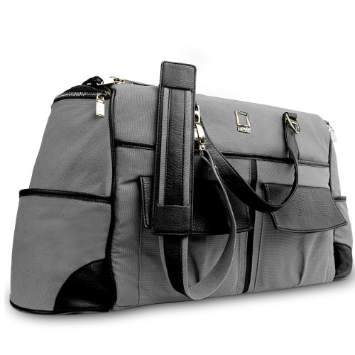 Lencca Alpaque Duffel Water-Resistant Luggage Laptop Bag ...