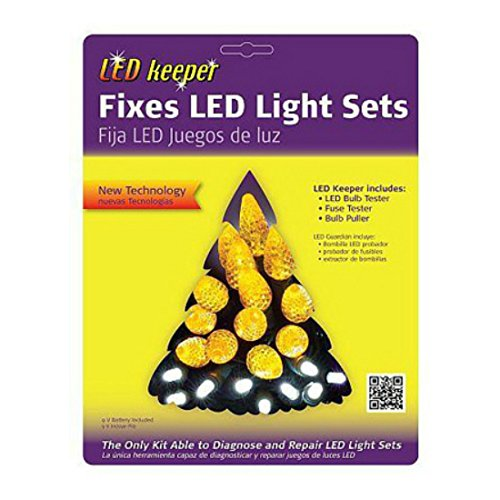 Christmas Tree Bulb Tester - LED Keeper LED Light Set Repair Tool