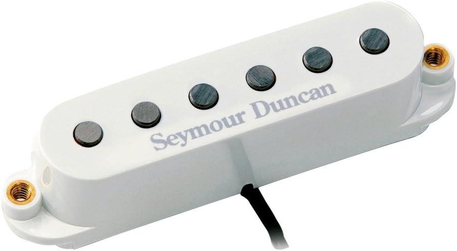 White Seymour Duncan SSL-6 Custom Flat Alnico 5 Strat 3 Pickup CALIBRATED SET