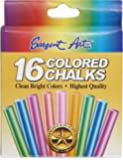 Sargent Art 66-3610 Colored Chalk, 16 Count