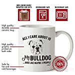 Bulldog Mom Gifts Mug For Christmas Women Men Dad Decor Lover Decorations Stuff I Love Bulldogs Coffee Accessories Talking Art Apparel Funny Birthday Gift Home Supplies Products Dog Coffee Cup Mugs 7