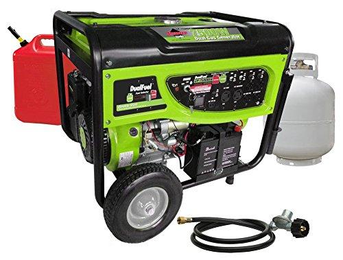 7500 watt propane generator - 7