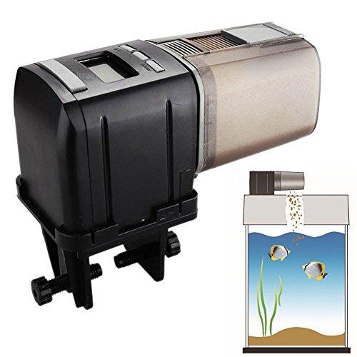 Tula Mini - Tulas Intelligent Programmable Mini Auto Fish Feeder Feeding Aquarium Tank Automatic Food Dispenser
