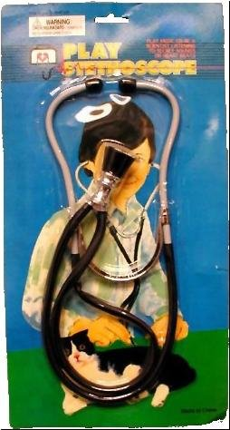 Deluxe Doctor Plastic Stethoscope