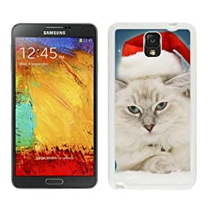 Best Buy Christmas Cat White Samsung Galaxy Note 3 Case 19