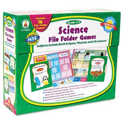 Science File Folder Game, Grades 2-3 (2 Folder Games)