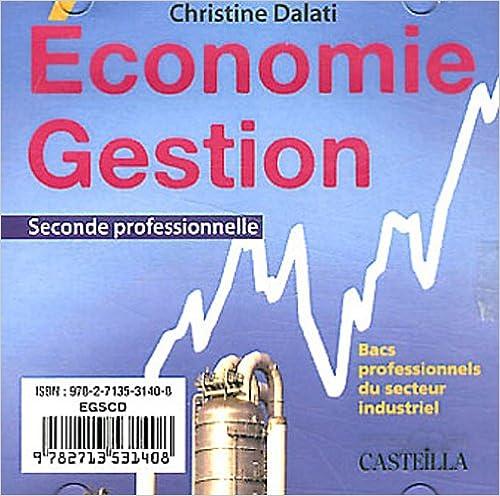 Livre Economie et gestion, 2e bac pro industriel pdf, epub ebook