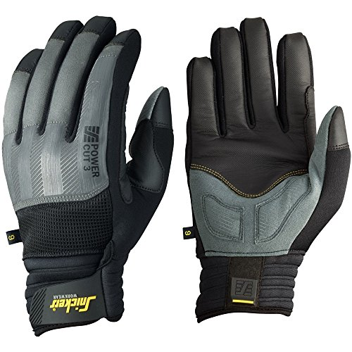 Snickers 95754804010''Cut 3'' Power Gloves, 10, Grey/Black by Snickers (Image #1)