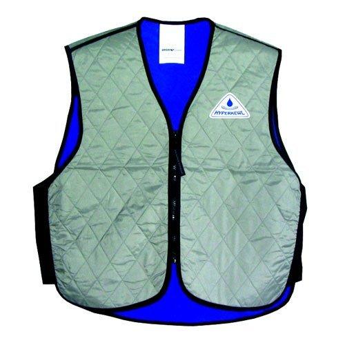 TechNiche International Adult HyperKewl Cooling Sport Vest, X-Small, Silver