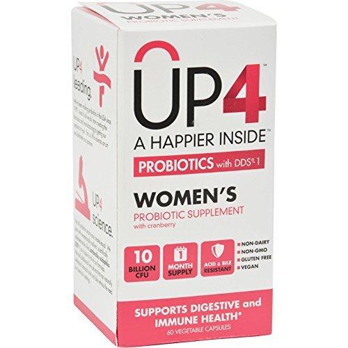 Up4 Probiotics - Dds1 Womens - 60 Vegetarian Capsules