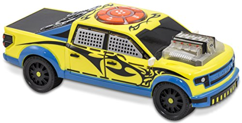 Kid Galaxy Ford F150 Motorized iRock & iRoll Pick Up Truck. Toddler Light and Sound Effects Toy (Pick Up Truck For Kids)
