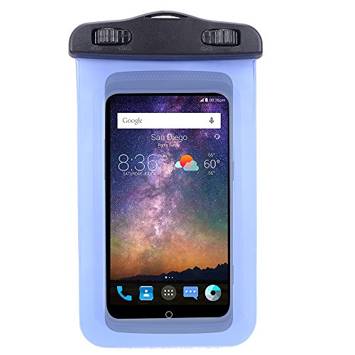 new product 27860 851cc SumacLife Universal Protective Waterproof Bag Pouch Case for Huawei  P8/P9/Honor 8/5A/5C/Mate S with Responsive Screen Protector and Wristband  Fit up ...