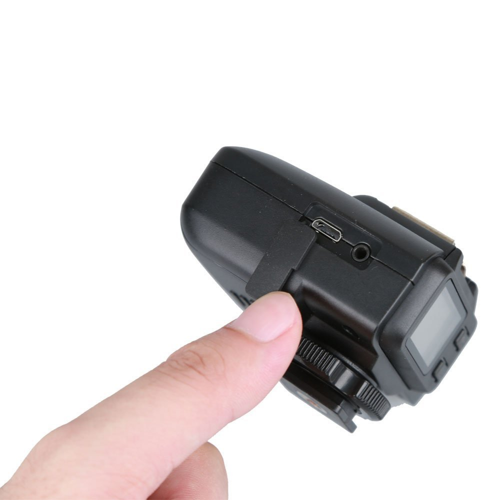 Godox X1C E-TTL Wireless Flash Receiver Compatible for Canon Cameras + CONXTRUE USB LED