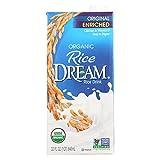 Rice Dream Original Rice Drink - Enriched Vanilla - Case of 12 - 32 Fl oz.