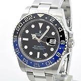Rolex Mens Unused 116710 BLNR GMT-Master 2 Batman Ceramic Bezel Stainless Steel Oyster Bracelet