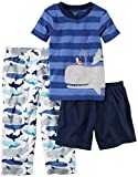 Carter's Boys' 3-Piece Poly Pajama Sets