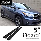 running board for highlander 2015 - eBoard Running Boards Black 5