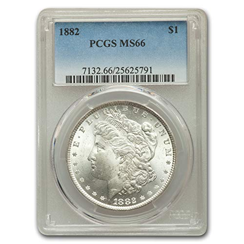 1882 Morgan Dollar MS-66 PCGS $1 MS-66 PCGS