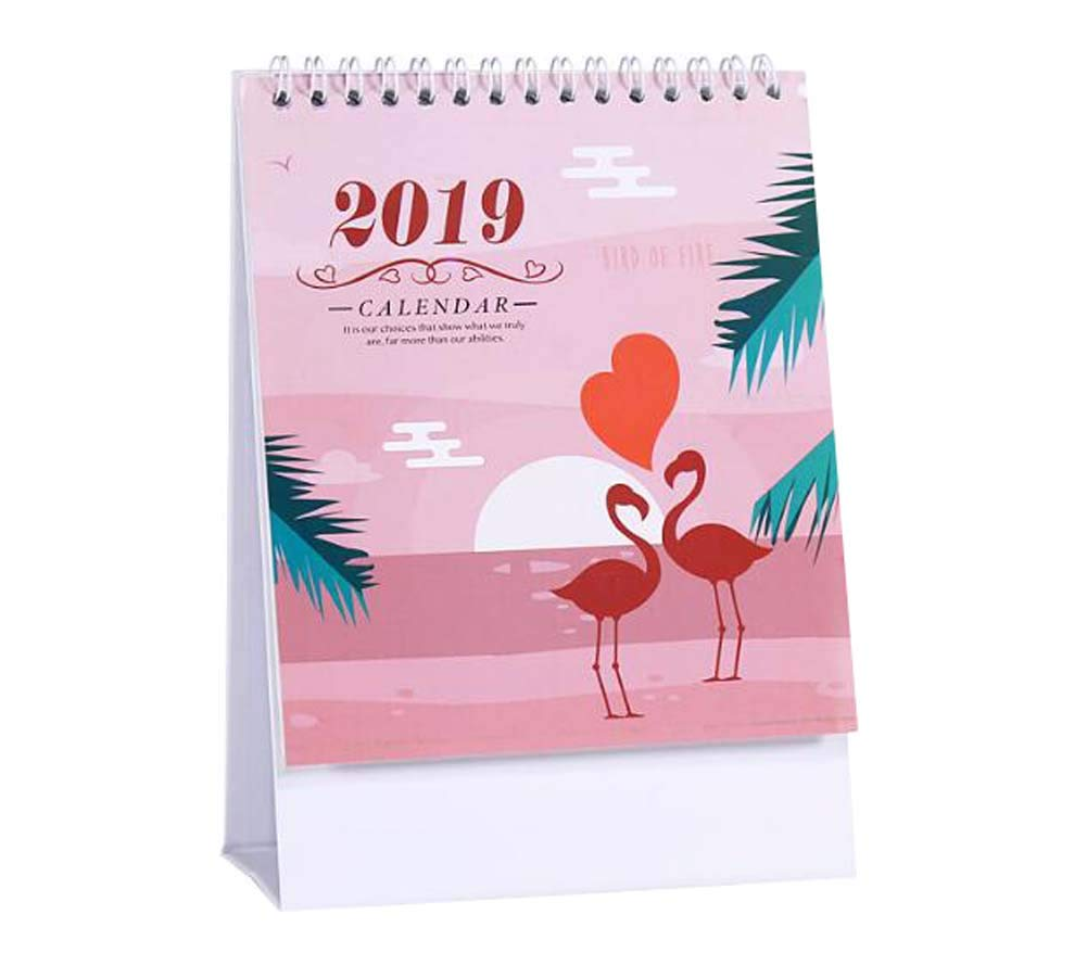 Monthly/Daily Schedule Notebook,2018-2019 Office/Home/School Calendar,C07