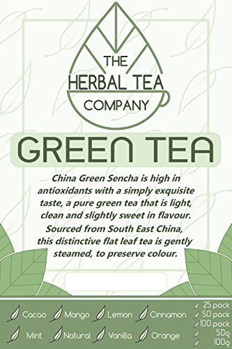 Prickly Pear Green Tea Blend Tea Bags With Natural Flavour 25 Pack