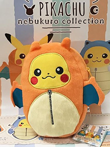 Banpresto Pokemon - Banpresto Pokemon 36759 Pikachu Sleeping Bag Nebukuro Zipper Pouch - Charizard