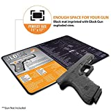 Ironclad Cleaning Mat Compatible for Glock - 3mm