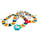 Deluxe Super Snap Speedway Assembly Journey Flexible Track Set (192 Pcs)