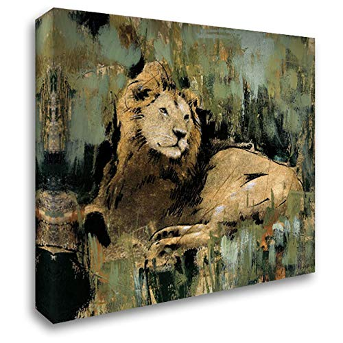 Heart of The Jungle II 20x20 Gallery Wrapped Stretched Canvas Art by Jardine, Liz