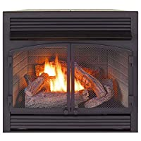 ProCom Heating Dual Fuel Ventless Firepl...