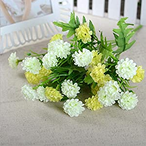 28 Heads Fake Floral Lilac Flower Artificial Silk Flowers for Wedding Party Home Decoration Bouquet 21