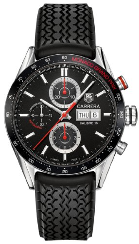 Tag Heuer Carrera Calibre Monaco Grand Prix Automatic Chronograph Mens Watch CV2A1F.FT6033