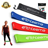 "Athleema Set of 3 Loop Resistance Bands 10"" X 2"""