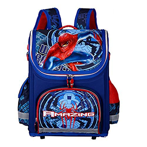 New Children's School Bag Boy/Waterproof Backpack Child/Boy Bag/Bag Backpack Spiderman 382817cm