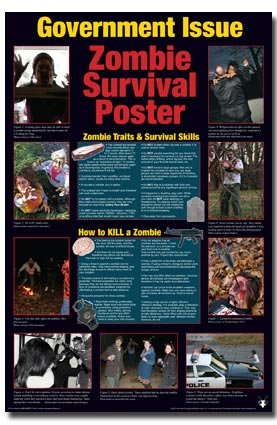 NMR/Aquarius Zombie Guide Poster