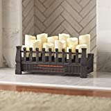 electric candle fireplace insert - Home Decorators 97029 Brindle Flame 20