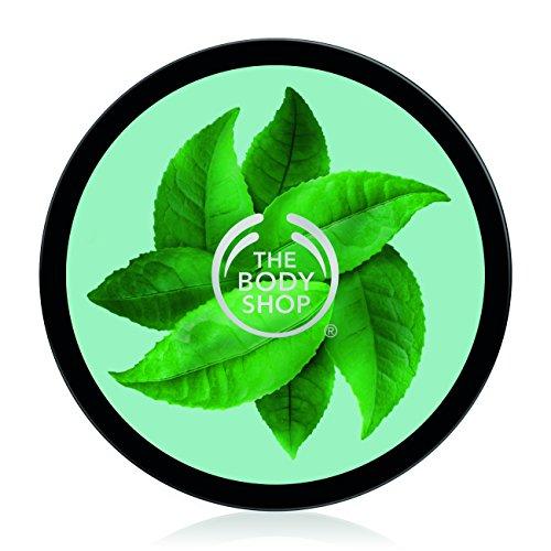 The Body Shop Fuji Green Tea Body Butter, Replenishing Body Moisturizer, 6.9 (Green Tea Body)