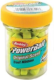 Berkley Powerbait Biodegradable Trout Nibbles Soft Bait, 1.1-Ounce