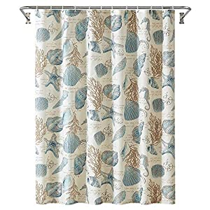 51AlTcxpNwL._SS300_ 200+ Beach Shower Curtains and Nautical Shower Curtains