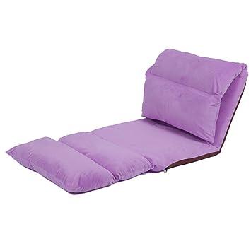 Beanbag PHTW HTZ Sofá Perezoso, único Alargado, Plegable, extraíble y Lavable, flotadores de Ocio, sillas de la Espalda + (Color : 1#): Amazon.es: Hogar