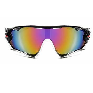 NoyoKere Gafas de Ciclismo para Bicicleta, Gafas de Deporte, Senderismo, Camping, Hombres, Motocicleta, Gafas de Sol Reflectantes a Prueba de ...