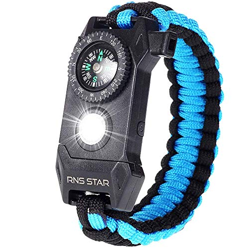 Paracord Survival Bracelet 6-IN-1