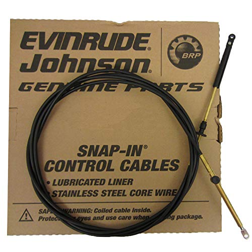 (Johnson/Evinrude/OMC New OEM 15' Remote Control Cable 173115; 0173115 15ft)